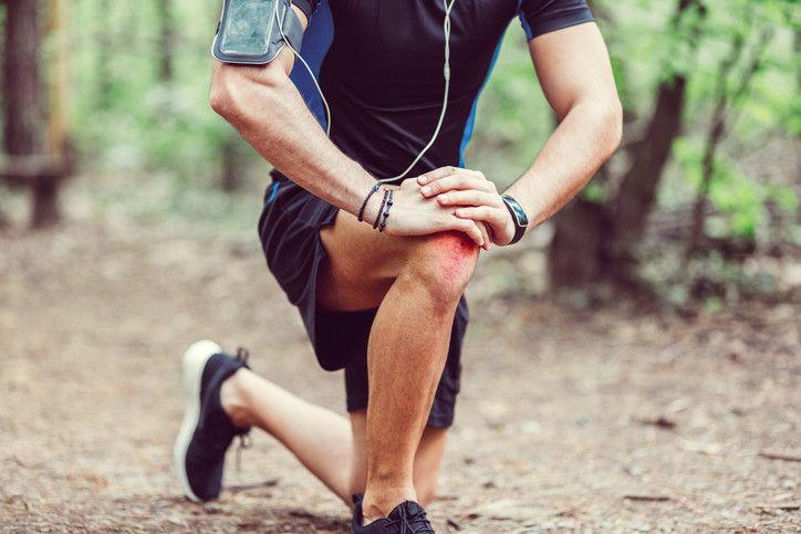lesiones de pierna leves