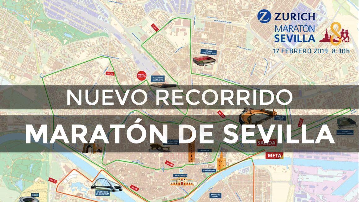 ¿Conoces ya el nuevo recorrido del Zurich Maratón de Sevilla?