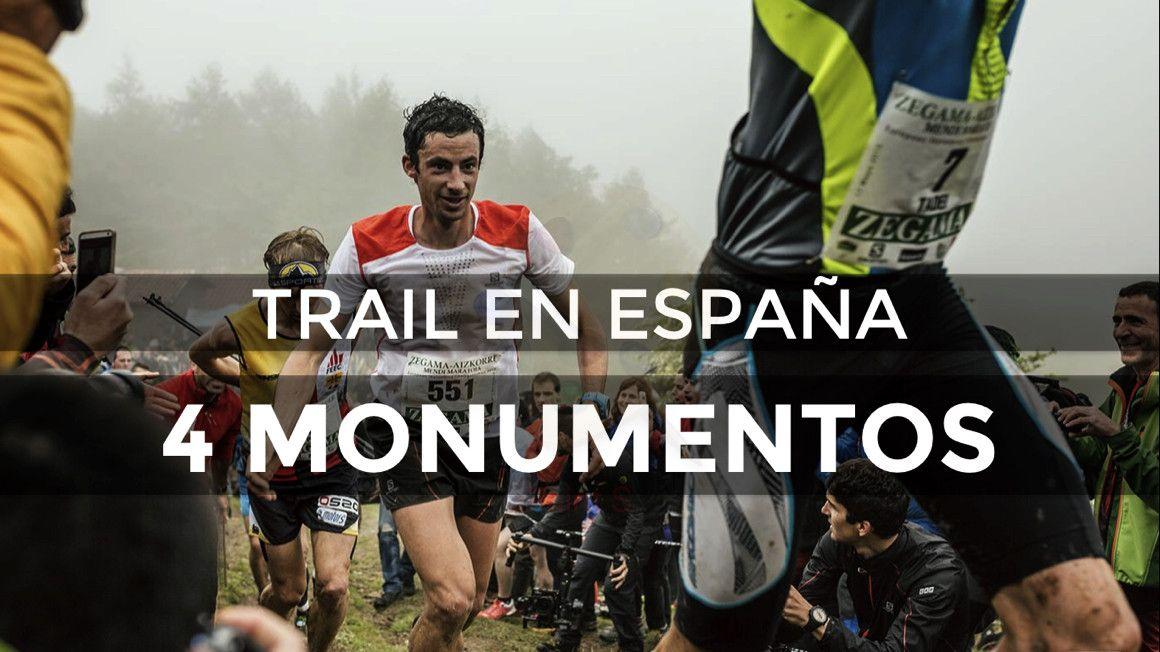4 'Monumentos del Trail' español que no superan los 42 kilómetros