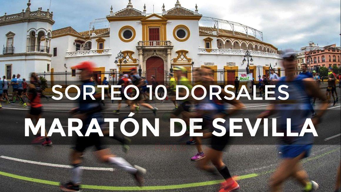 ¡CORREDOR\ sortea 10 dorsales para el Zurich Maratón de Sevilla!