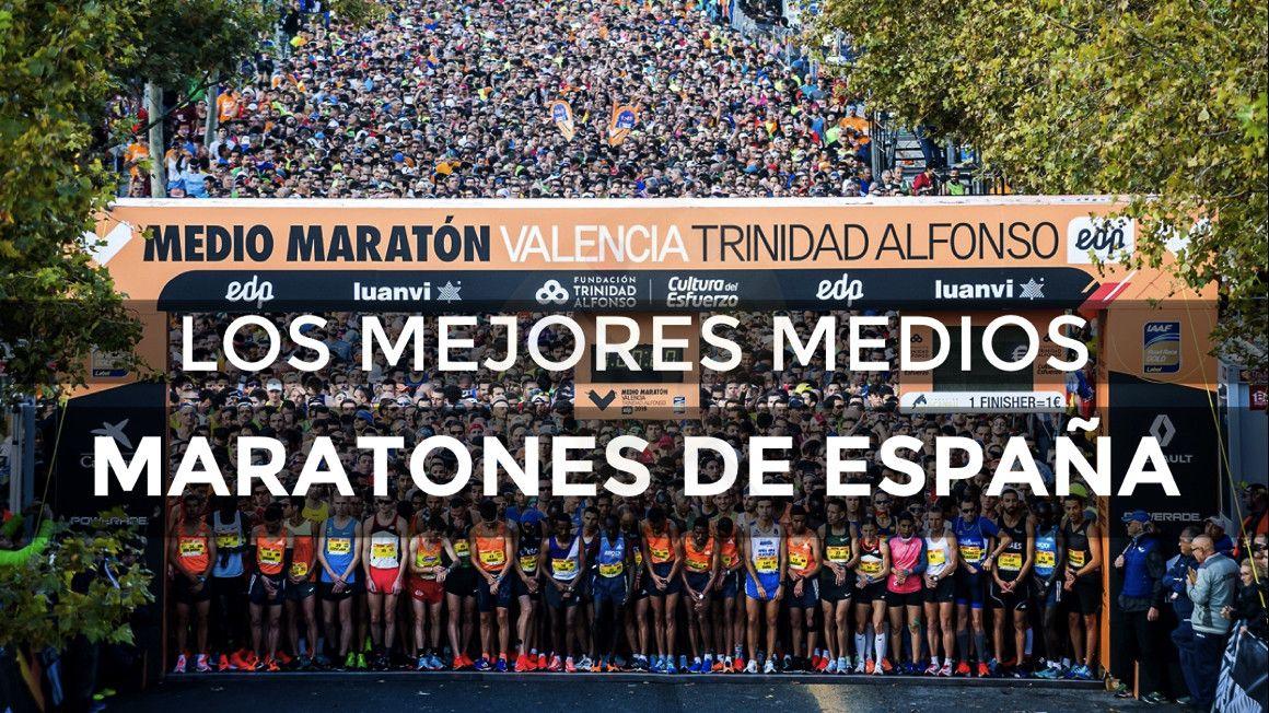 Los mejores medios maratones del 2018 en España