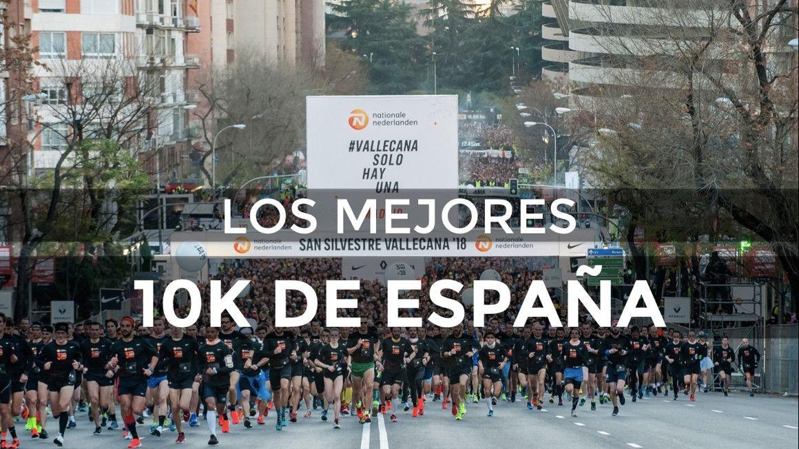 Las mejores carreras de 10K de España en 2018