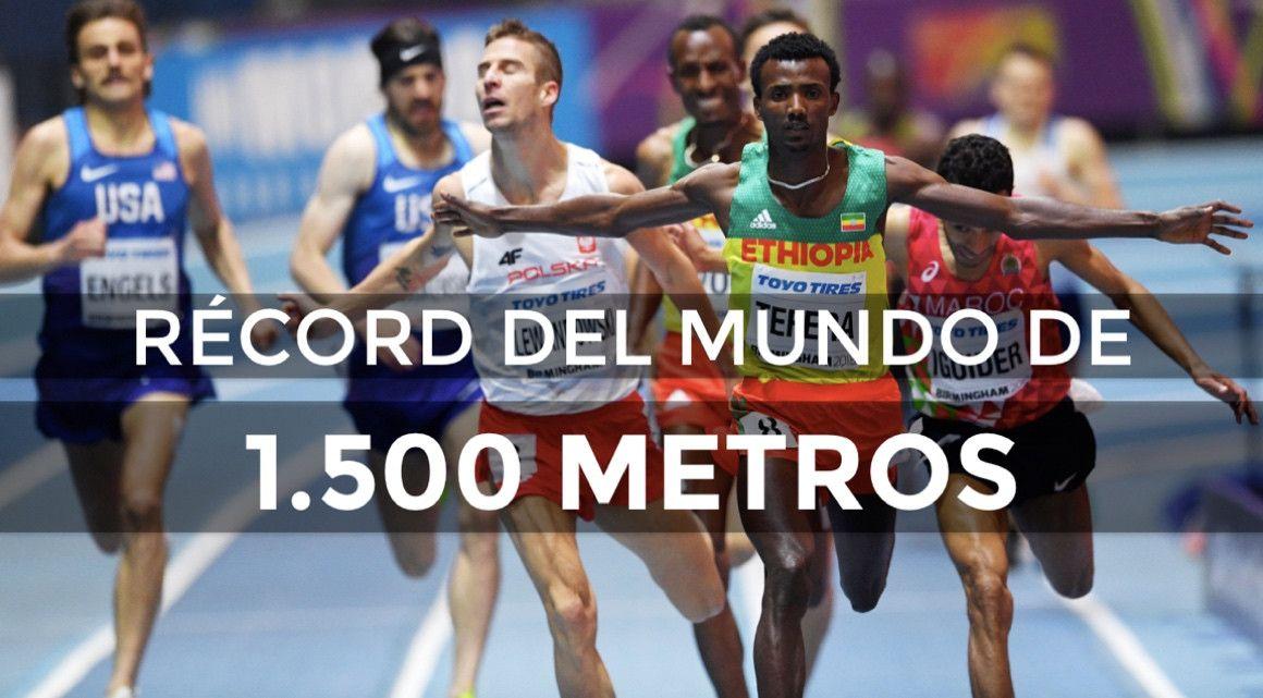 Tefera le quita a El Guerrouj el récord del mundo de 1.500 m en pista cubierta