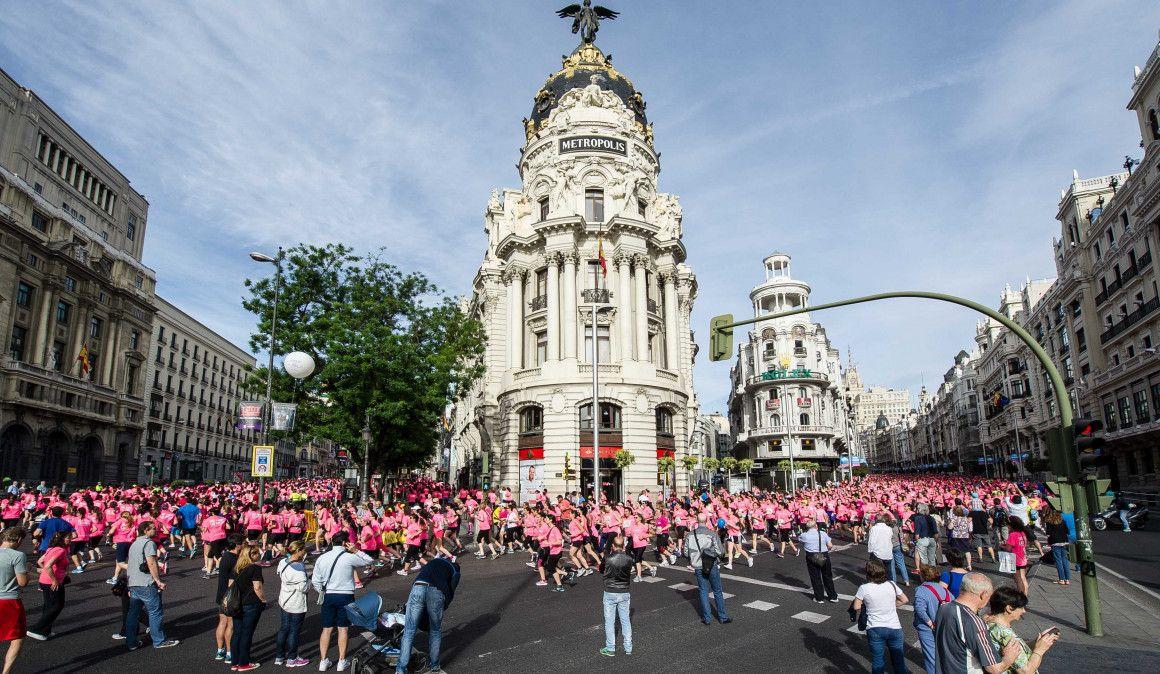 EL 20 de marzo se abren las inscripciones de la Carrera de la Mujer de Madrid