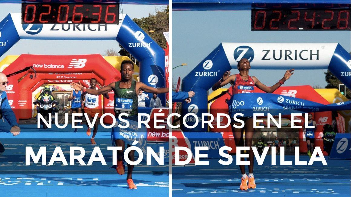 Nuevos récords en el Zurich Maratón de Sevilla