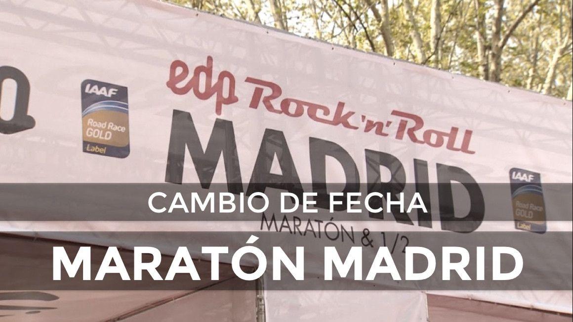 El Maratón de Madrid 2019 podría cambiar de fecha