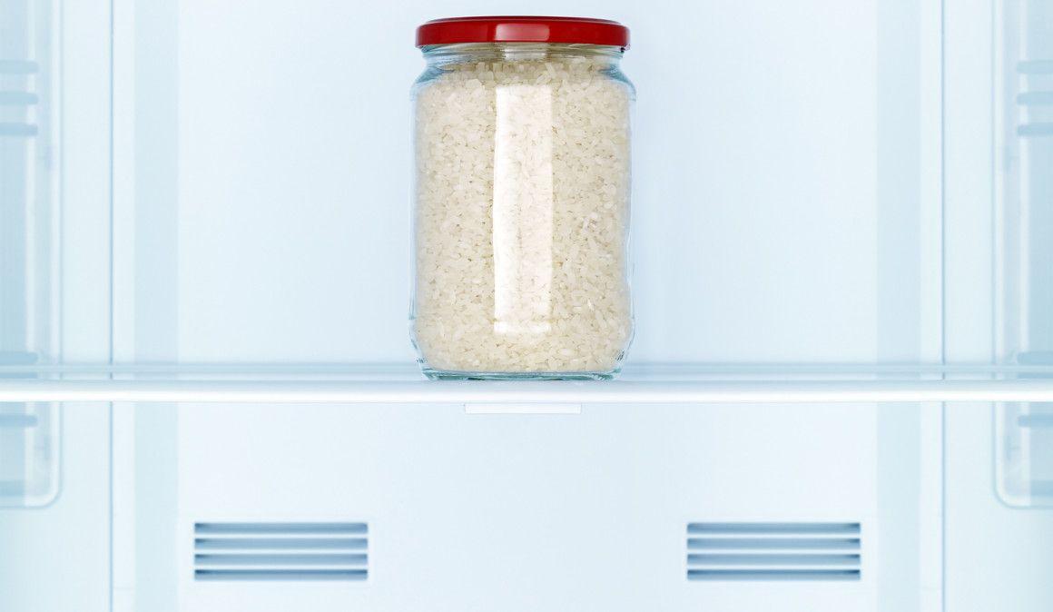 Refrigera el arroz