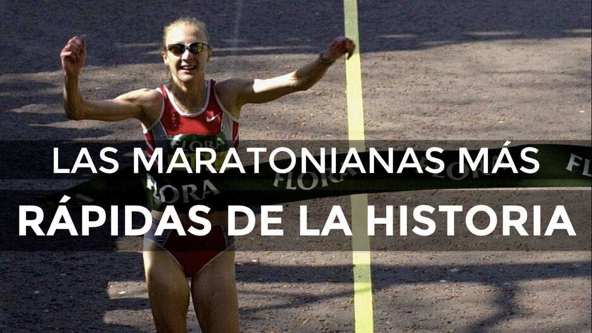 Las maratonianas más rápidas de la historia