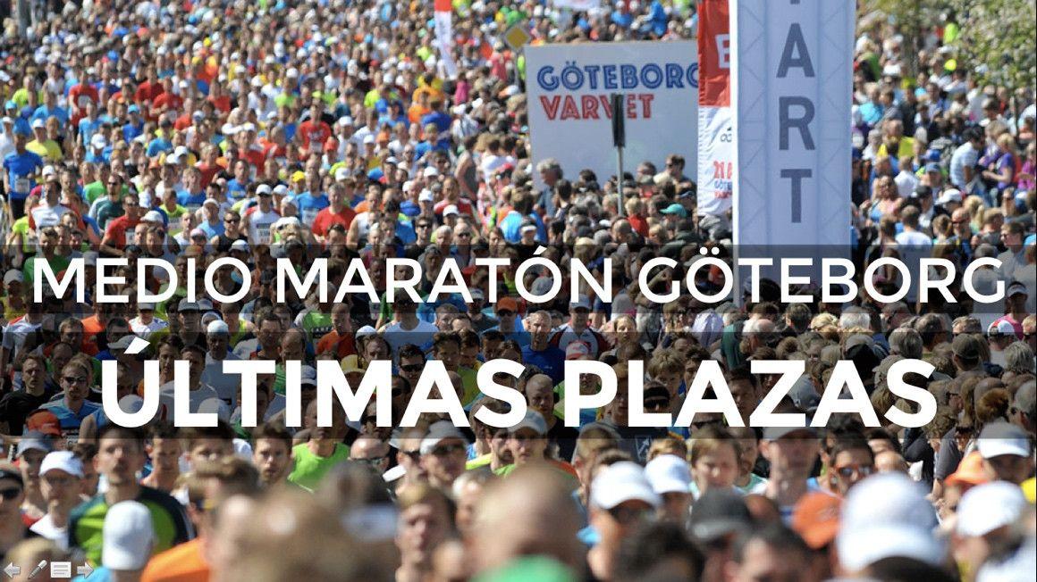 ¡Últimas 5 plazas para el Medio Maratón de Göteborg!