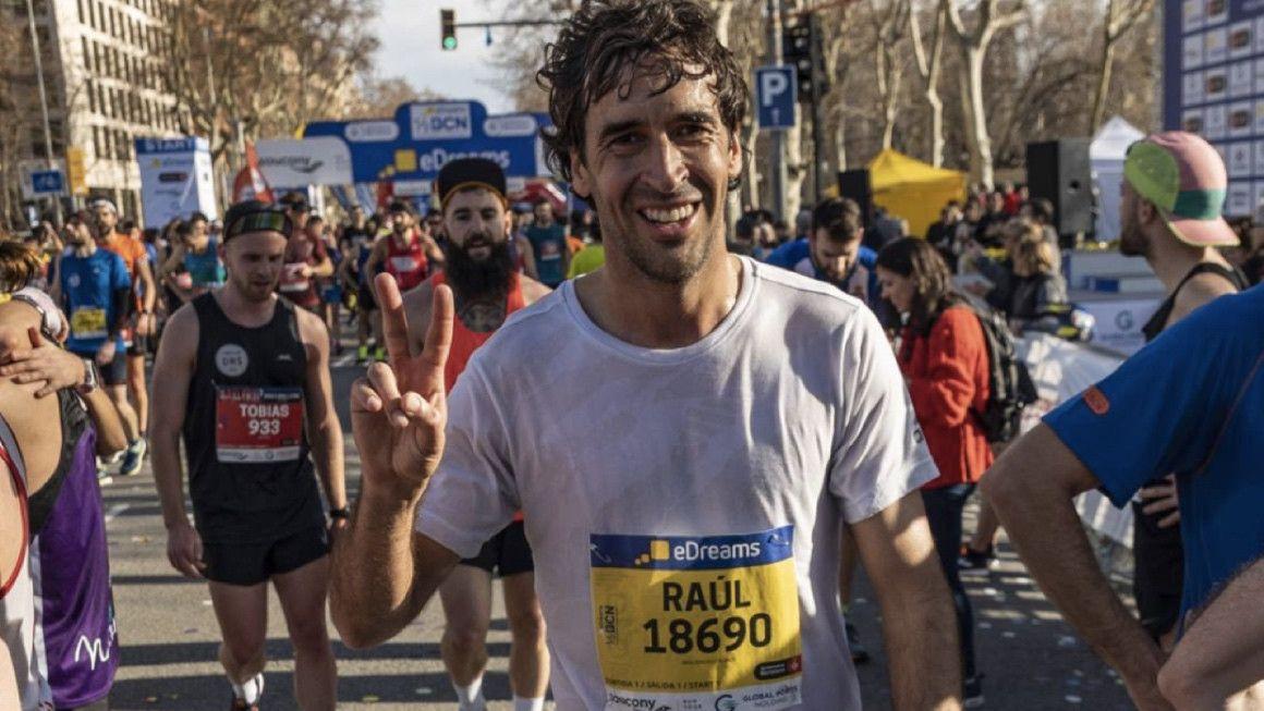 Raúl González corrió la eDreams Mitja Marató de Barcelona