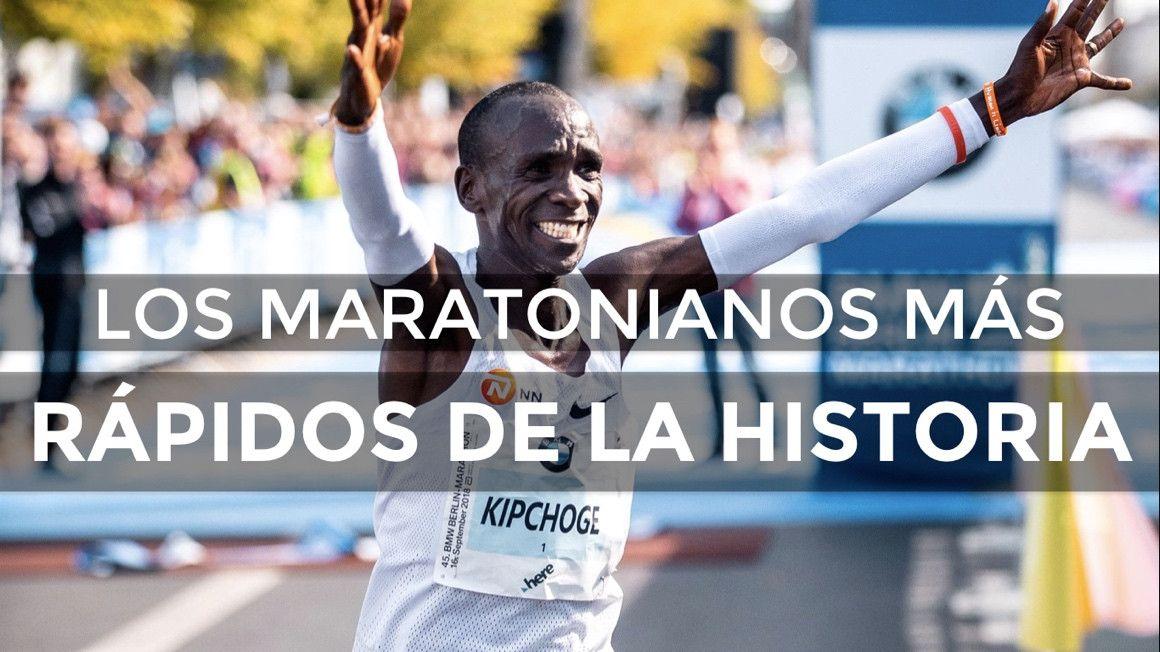 Los maratonianos más rápidos de la historia