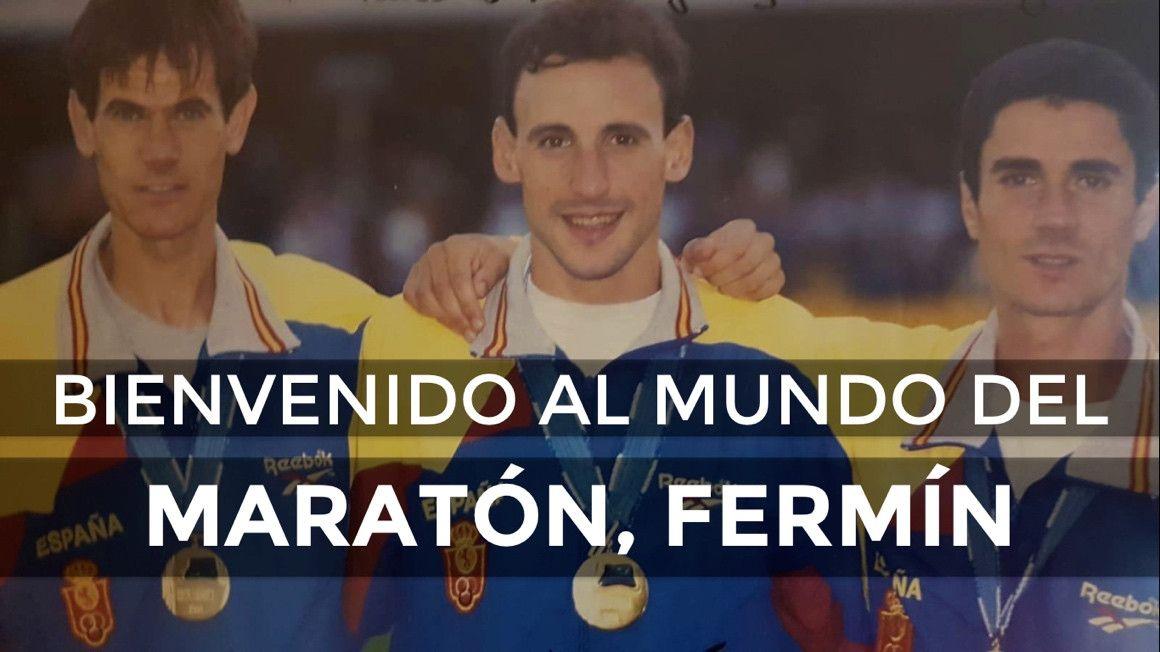 """Martín Fiz: """"Fermín, bienvenido al Maratón"""""""