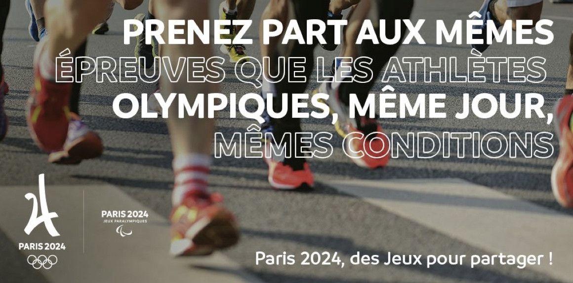 Los corredores populares podrán correr el maratón olímpico de París 2024
