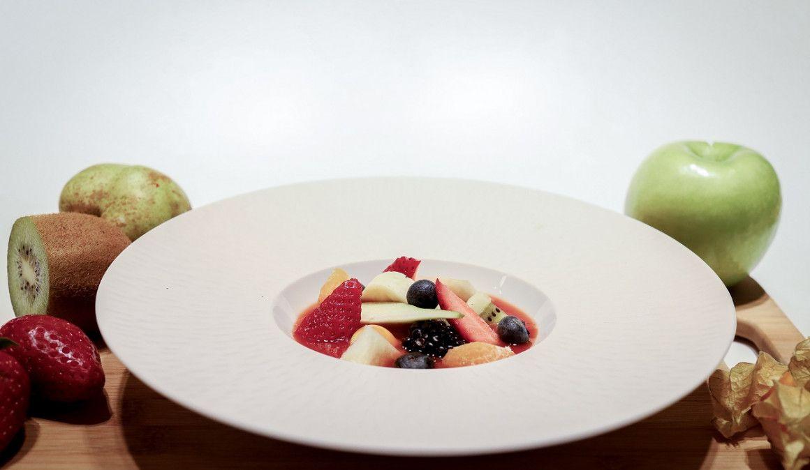 Antioxidantes naturales: Gazpacho de frutos rojos con ensalada de frutas