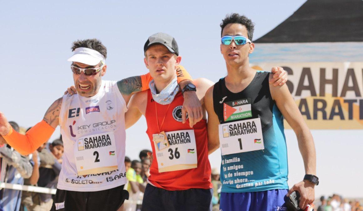 Los suecos triunfan en el Sahara Marathon