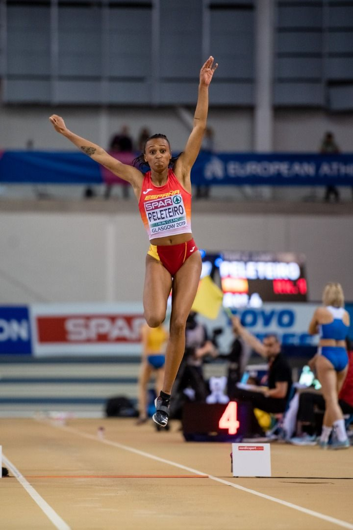 Ana Peleteiro, campeona de Europa y récord de España de triple salto