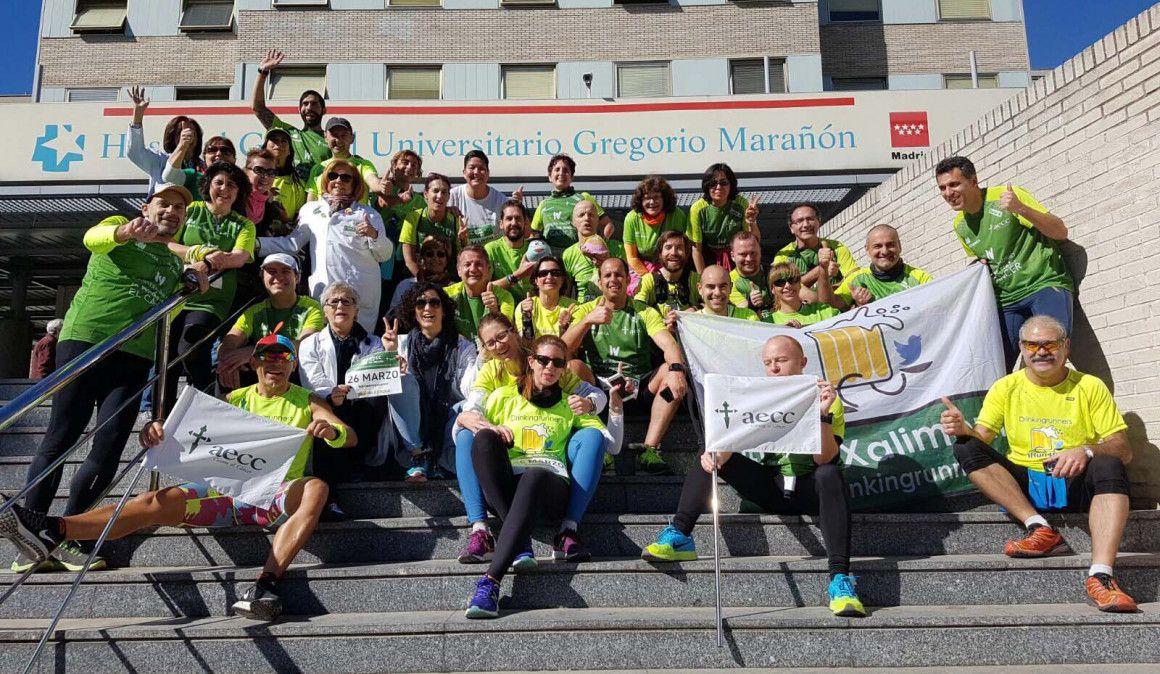 """Arranca la """"AECC Forrest Run"""" de la mano de los Drinking Runners que recorrerán los hospitales de Madrid"""