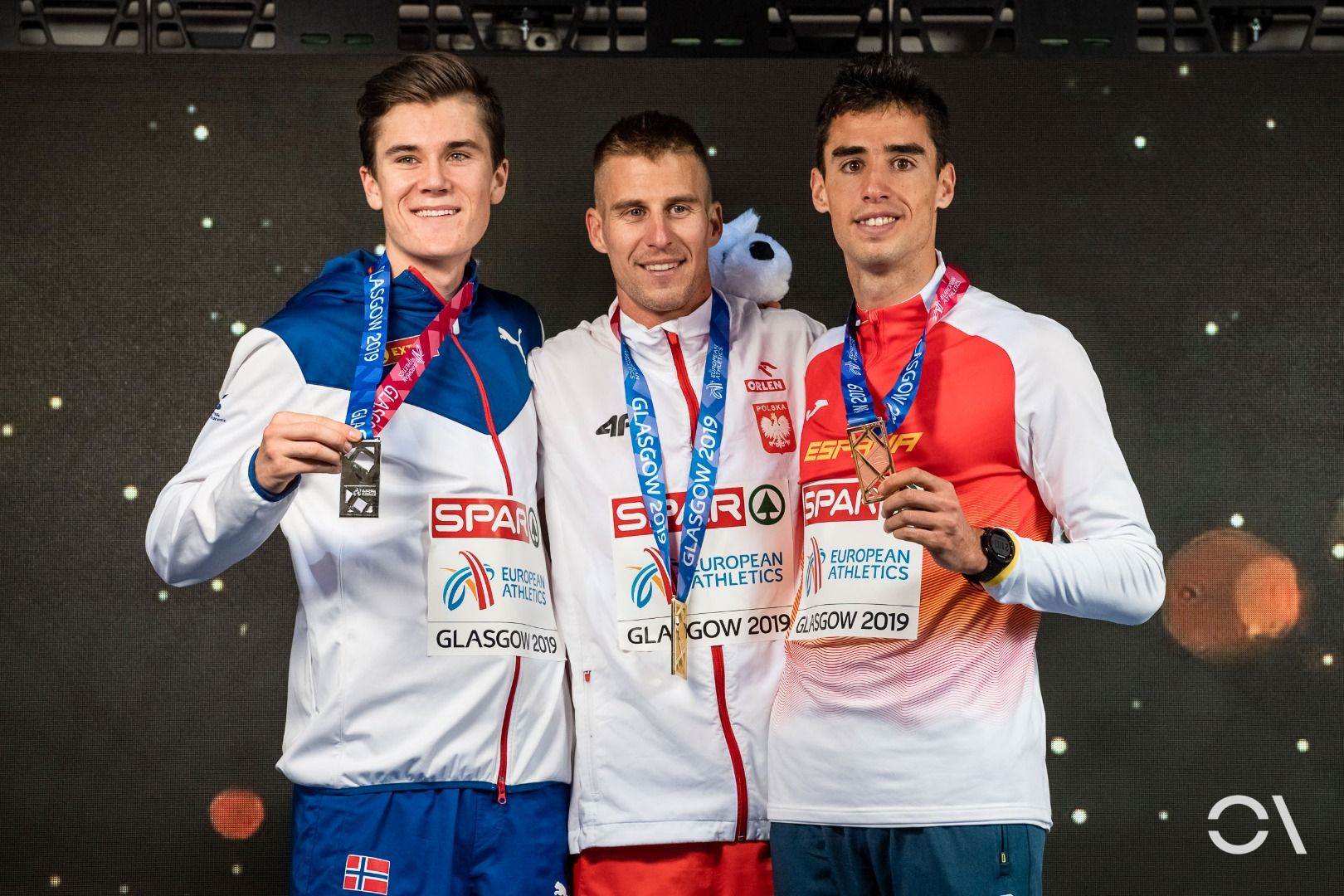 Domingo de medallas para el atletismo español