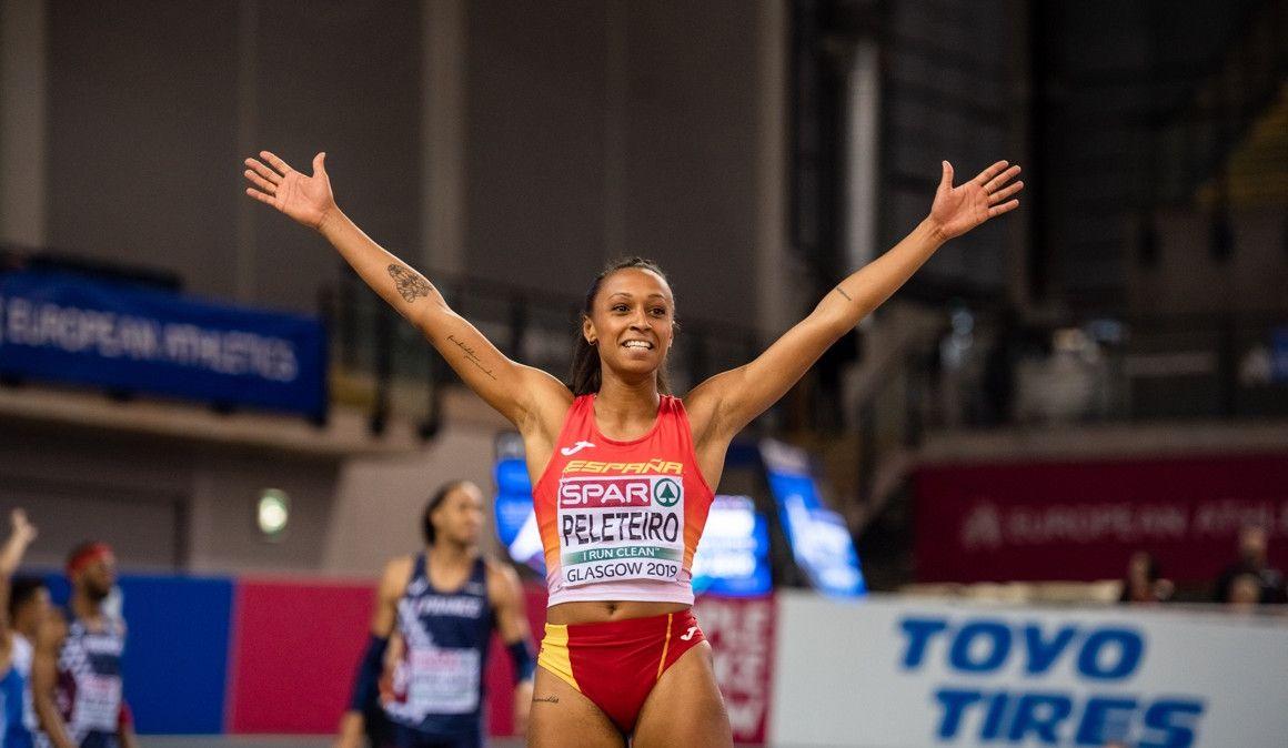 Ana Peleteiro, con nuevo récord de España, campeona de Europa en Glasgow