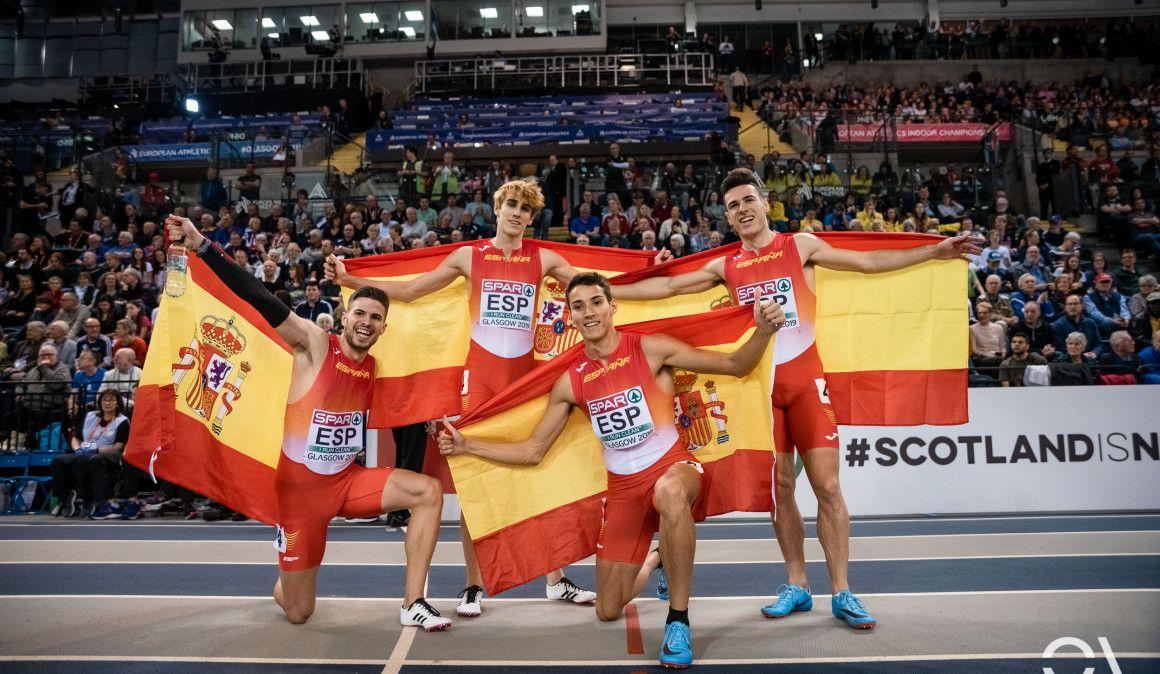 España finaliza tercera en el medallero de Glasgow 2019