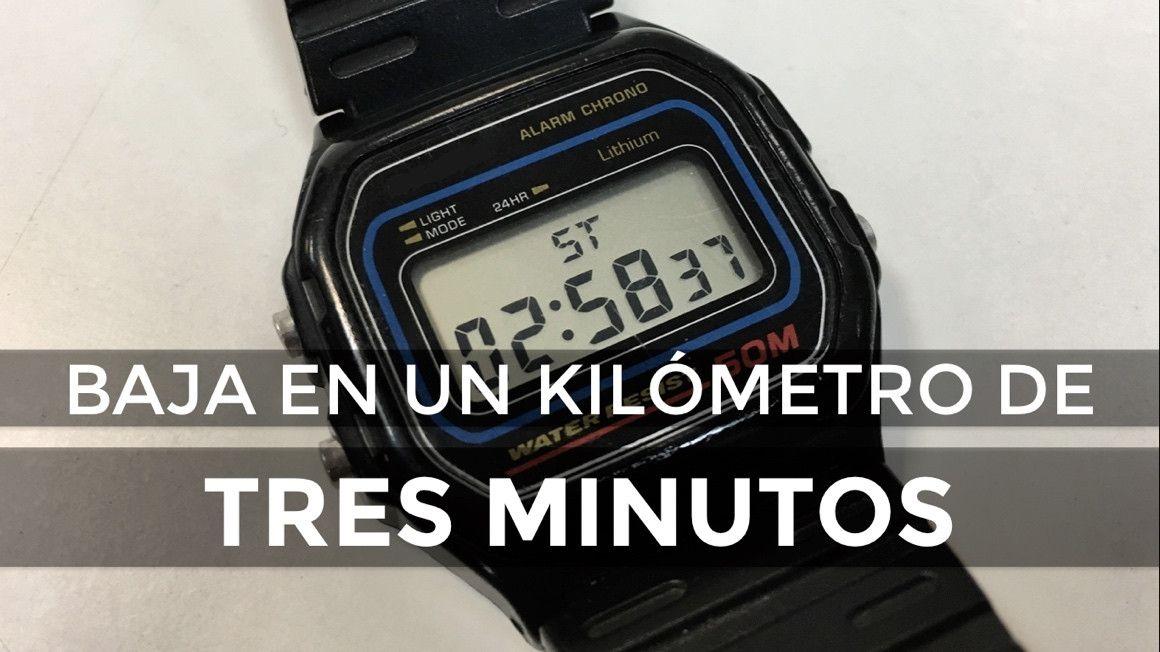 Consigue bajar de 3 minutos en 1 kilómetro