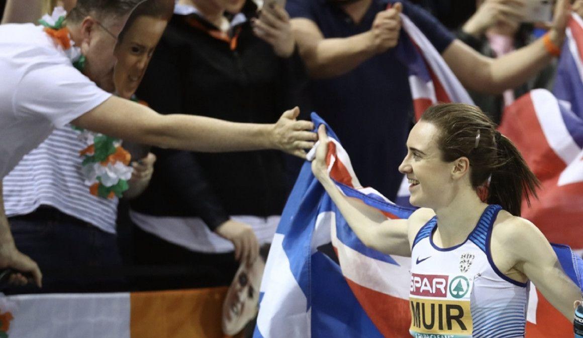 """Laura Muir: """"En edad escolar me doblaron en un 1.500m"""""""