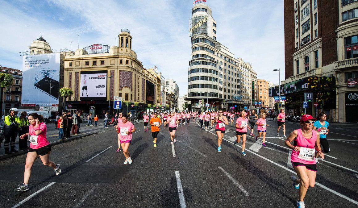 Mañana se abren las inscripciones de la Carrera de la Mujer de Madrid