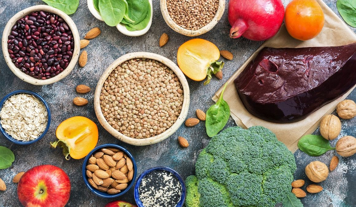 Alimentos ricos en hierro que pueden ayudarte en la carrera