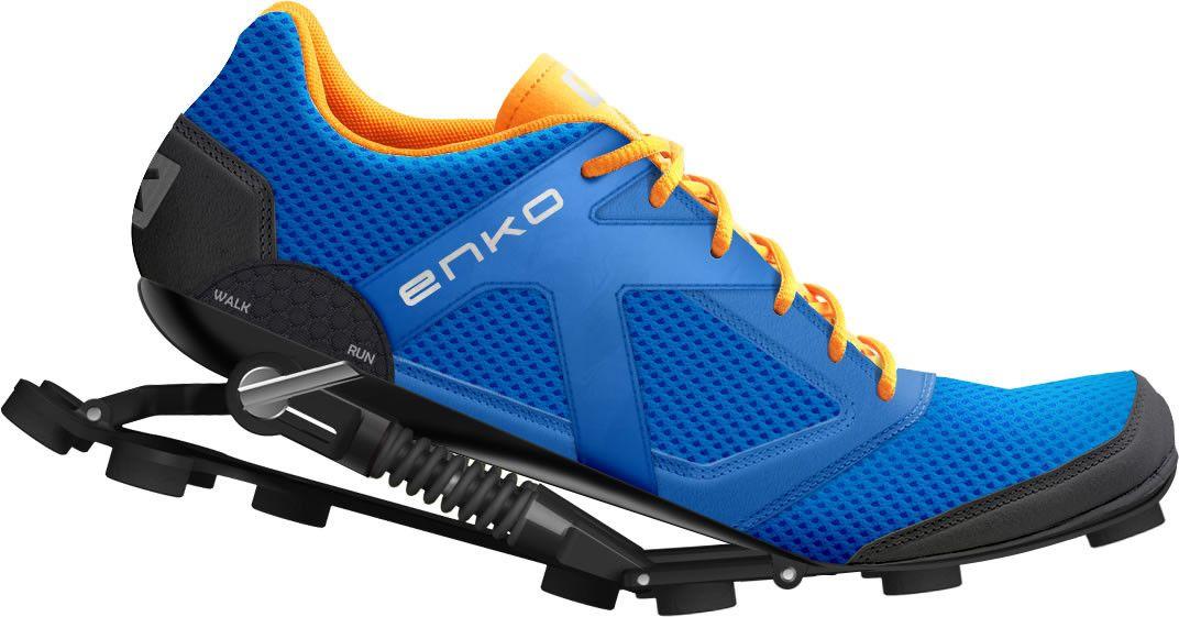 Enko, las zapatillas con suspensión mecánica que cuestan 331 euros