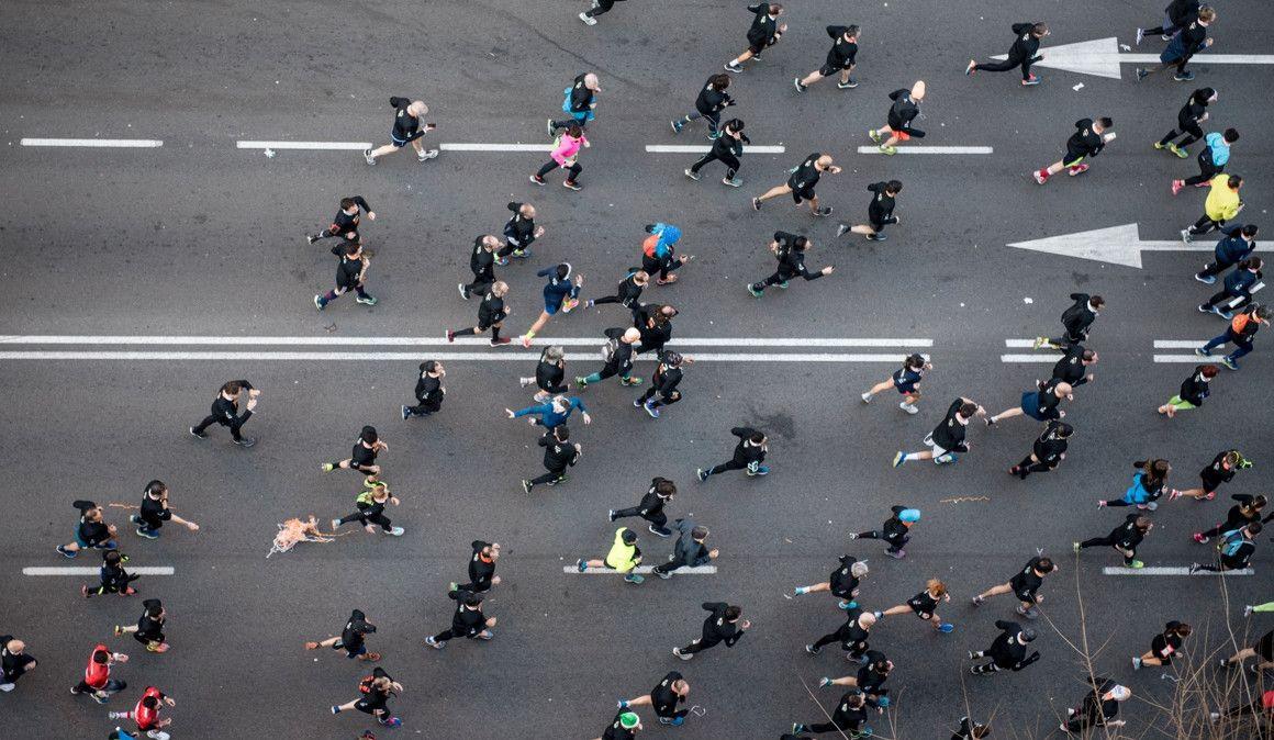 Maratonianos saludables
