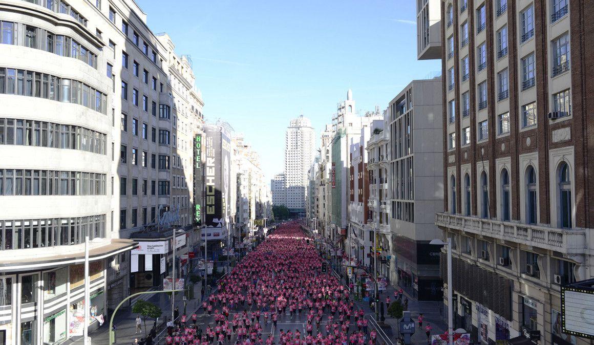 Cómo conseguir tu plaza para la Carrera de la Mujer de Madrid