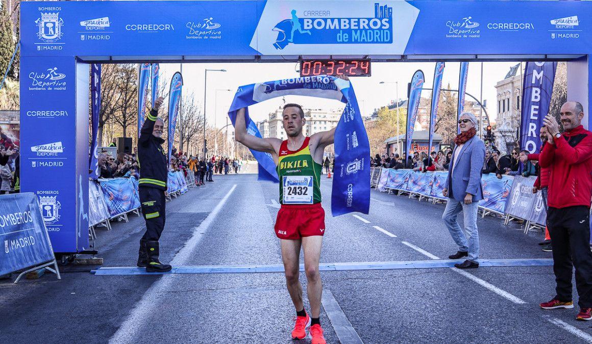 Más de 3.000 participantes en la Carrera Bomberos Madrid 2019