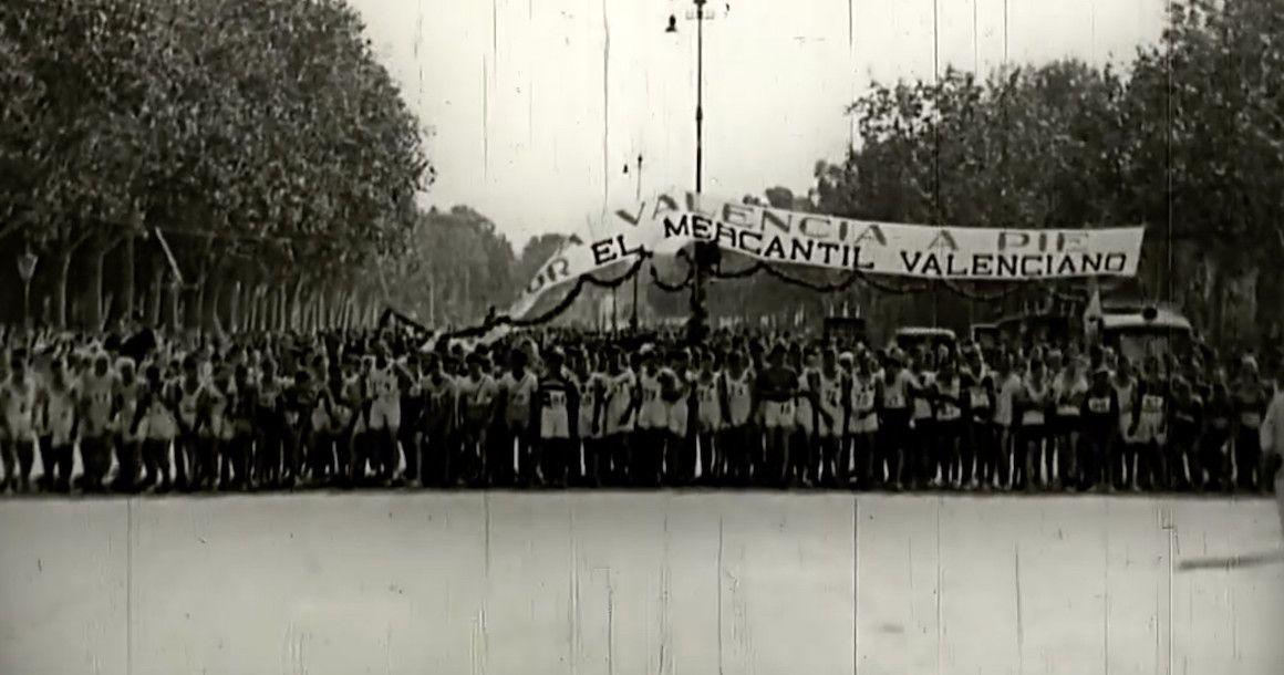 Así corríamos hace 90 años