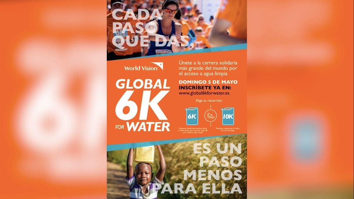 La Carrera del Agua evoluciona: llega '6K For Water'