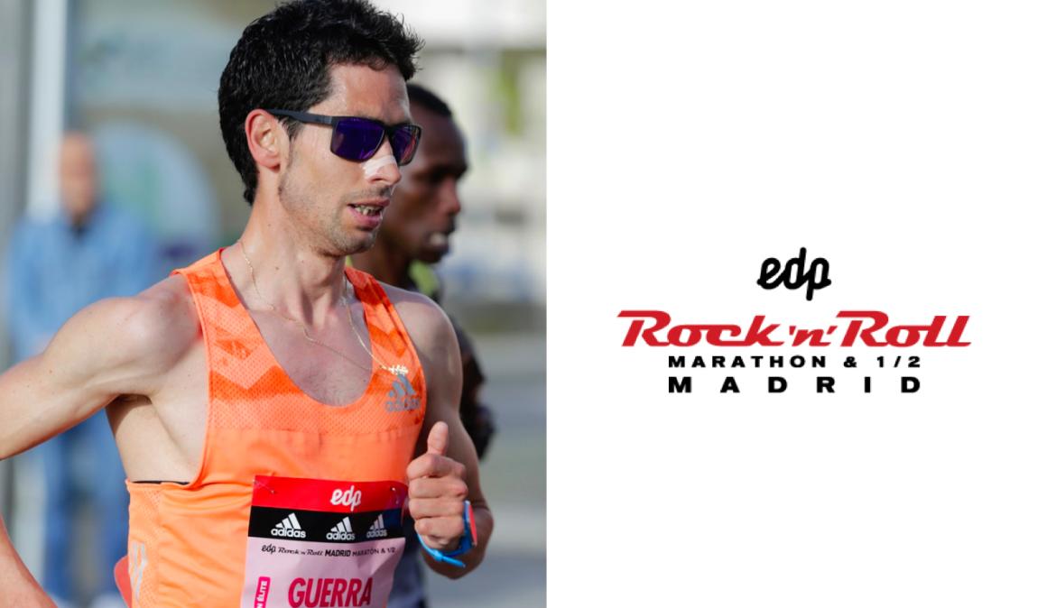 Javi Guerra correrá el EDP Rock'n'Roll Madrid Maratón el día 27 de abril