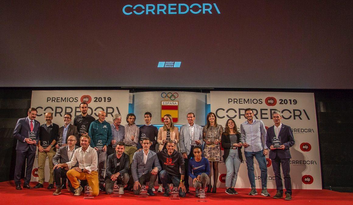 Gran éxito de los EDP Premios CORREDOR\
