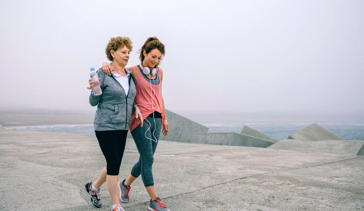 Andar, el primer paso para ser corredor toda la vida