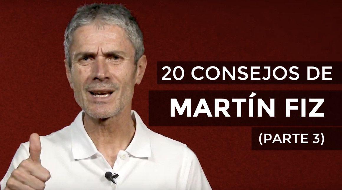VÍDEO | 20 Consejos de Martín Fiz (PARTE 3)