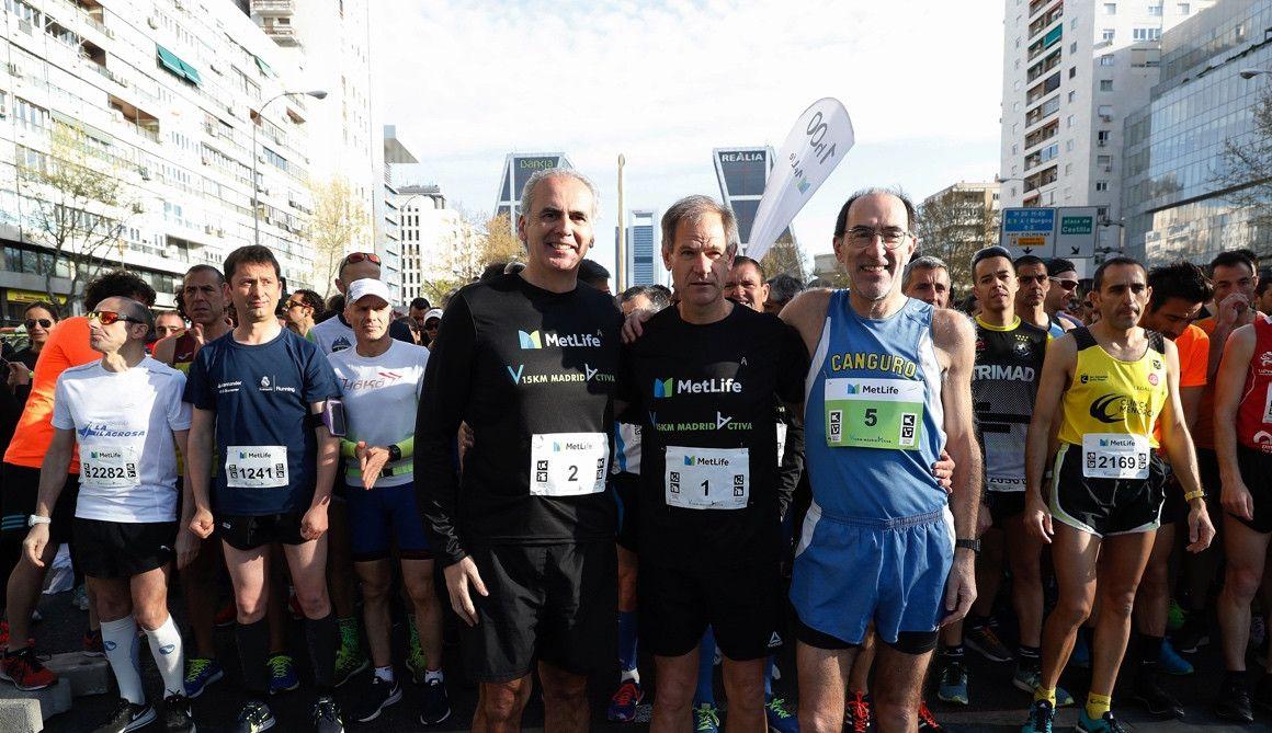 Clara Simal e Israel Alonso triunfan en los 15K Metlife