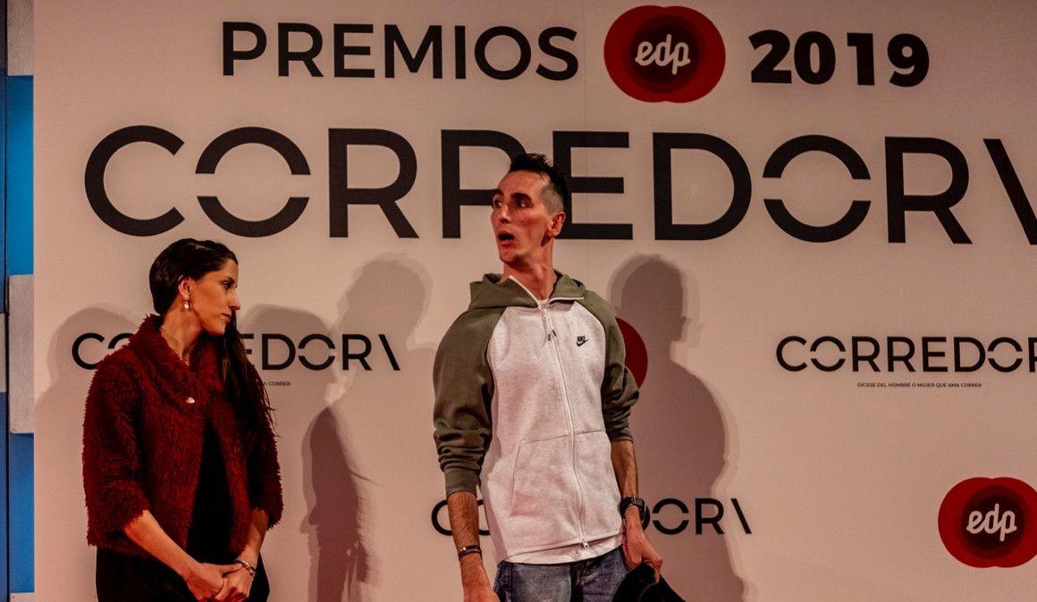 Àlex Roca protagonizó el momento más emotivo de los EDP Premios CORREDOR\