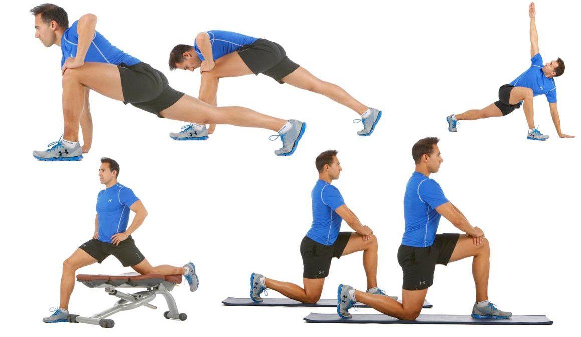 Estira la cadera con abdominales y activa el core