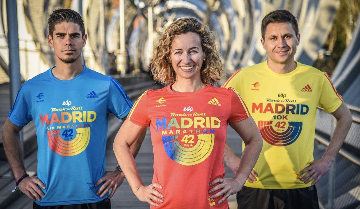 El Maratón de Madrid presenta sus camisetas