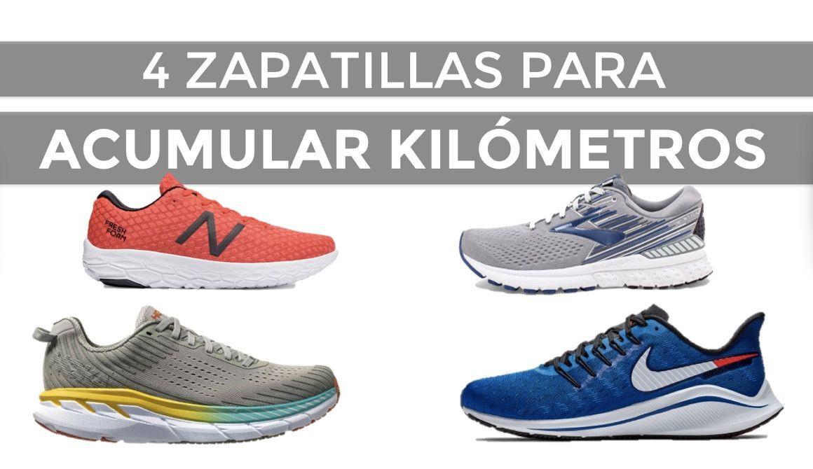 Cuatro zapatillas para acumular kilómetros