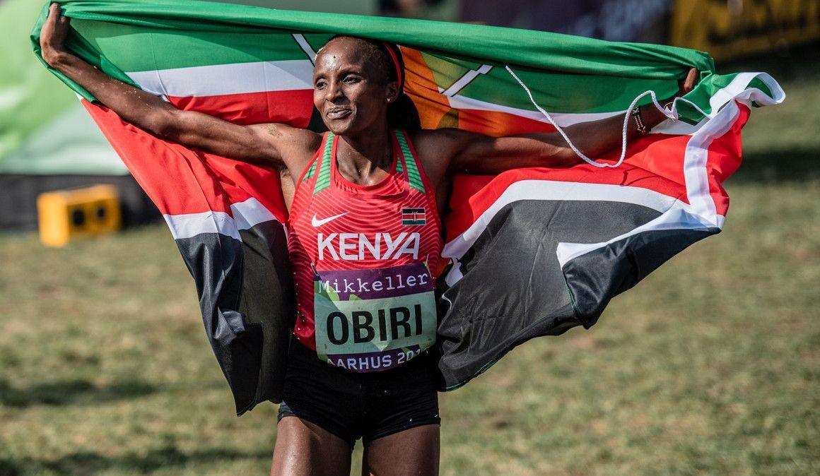 Obiri, primera atleta de la historia campeona en sala, al aire libre y cross