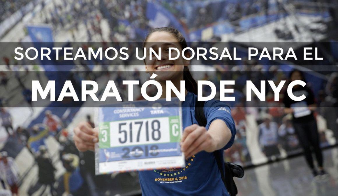 Consigue un dorsal para correr el Maratón de Nueva York