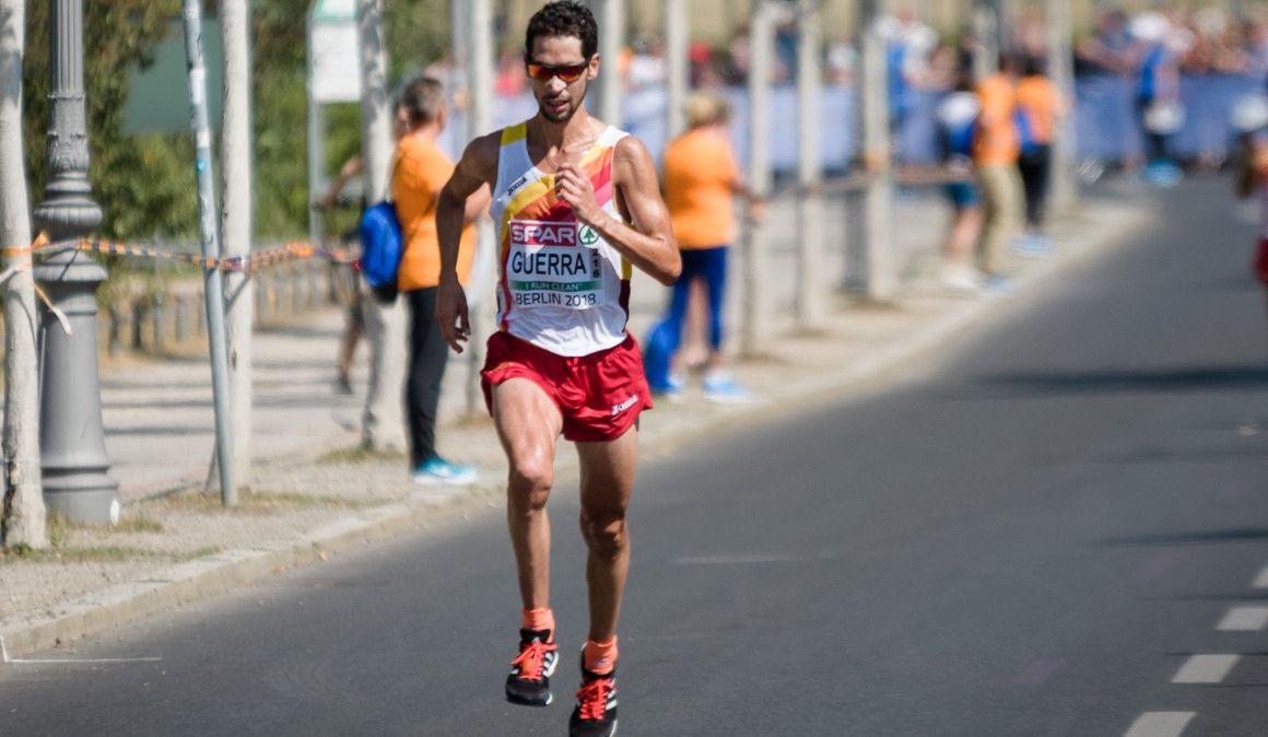 Javi Guerra, uno de los principales atractivos del potente grupo de élite del Movistar Medio Maratón de Madrid 2019