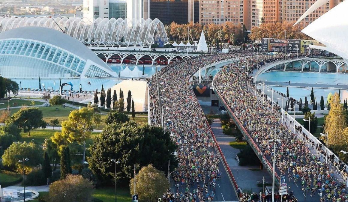 El Maratón de Valencia anuncia medidas legales contra los corredores que falsifiquen o corran sin dorsal