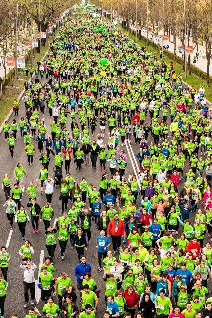 18.000 participantes en la Carrera Contra el cáncer de Madrid