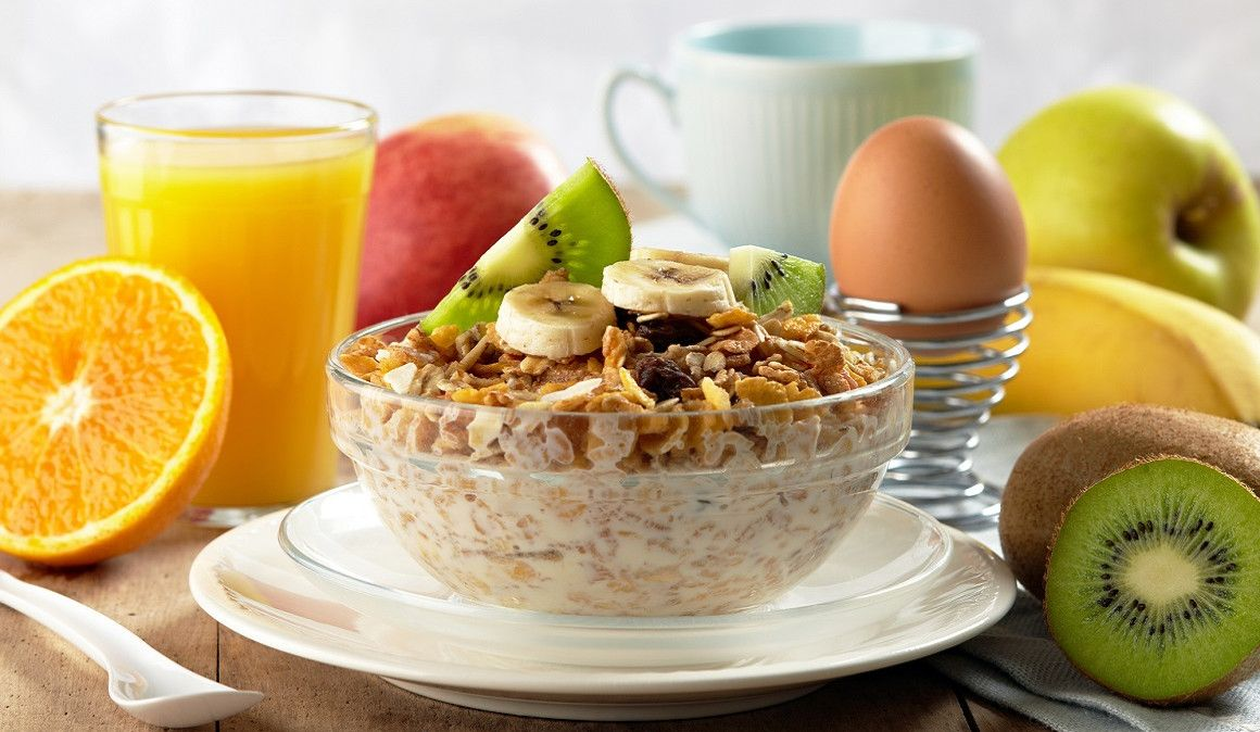 3 ejemplos de desayunos sin pan