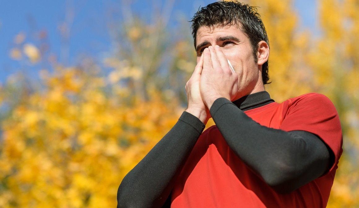 ¿Puedes hacer deporte si tienes alergia?